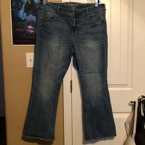 American Eagle Kickboot Jeans Short Length